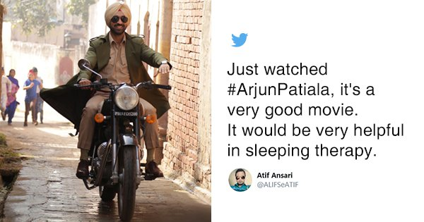Tweets To Read Before Booking Your Tickets For 'Arjun Patiala'