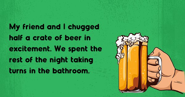 People Share Their First Beer Memories To Commemorate The Day They Got 'Burp-Tized'