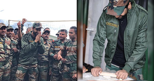 Vicky Kaushal Spends Time With Indian Army, Makes 'First Roti Ever' For Jawans In Tawang