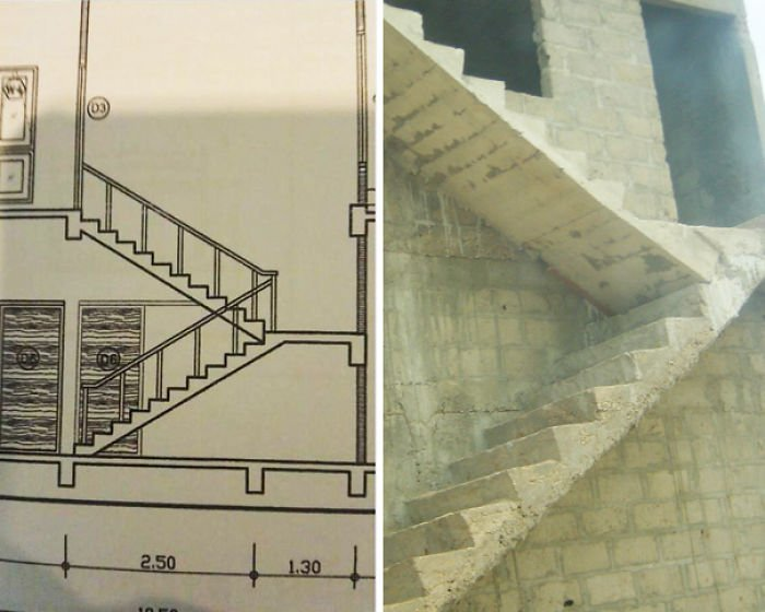 Built The Staircase