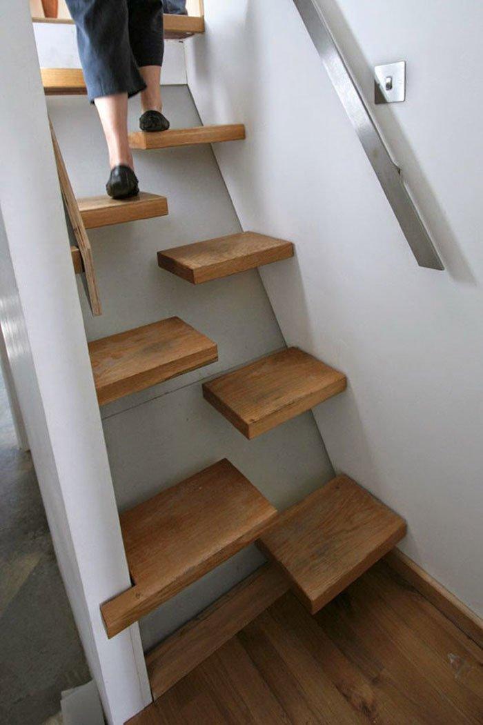 Space Saving Stairs.