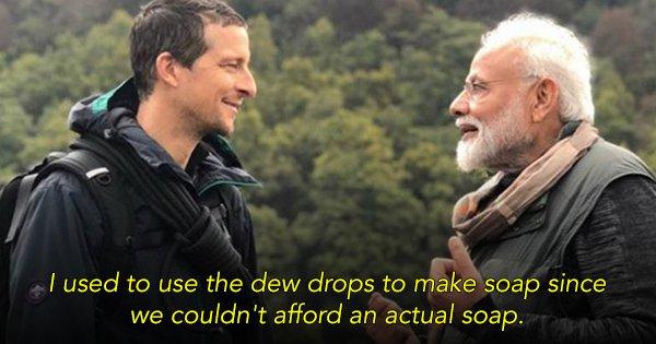 10 Things Modi Ji Said On The Latest Episode Of Man Vs. Wild With Bear Grylls