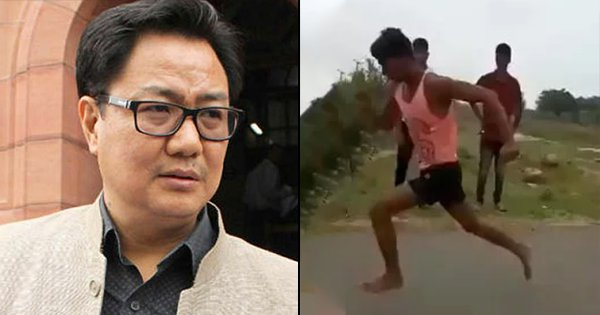 Barefoot 19-Year-Old Ran 100 Metres In Just 11 Seconds, Sports Minister Promises Him Free Training