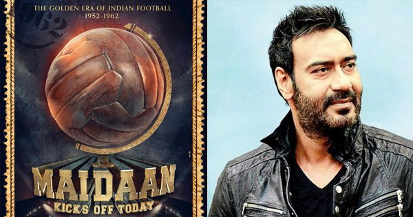 Ajay Devgn To Play A Key Role In 'Maidaan', A Movie Based On The Golden Years Of Indian Football