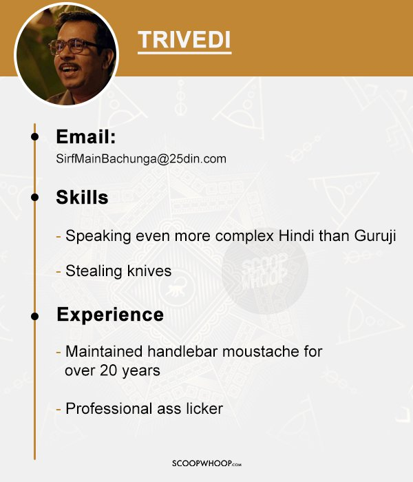 If Sacred Games Characters Applied for 'Real' Jobs, This Is