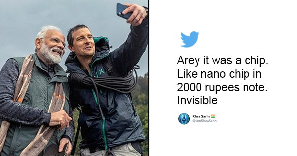 Where's It?: Twitter Tries Locating The Cordless Device Bear Grylls Used To Communicate With Modi