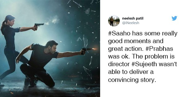 21 Tweets To Read Before Booking Your Tickets For 'Saaho'