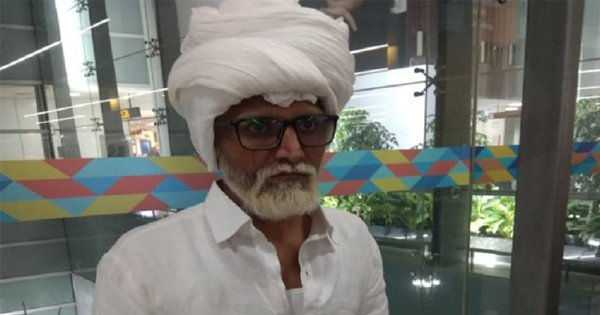 32-Year-Old Indian Man Dressed Up As 81-Year-Old To Take A Flight to NY. God Only Knows Why