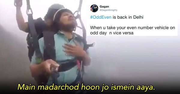Twitter Brings Back Jokes As Delhi Reintroduces Odd-Even Scheme After Diwali
