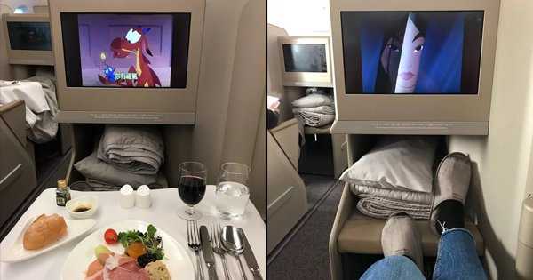 A Guy Got Upgraded From Economy To Business Class. Alexa, Where Can I Find His Luck?