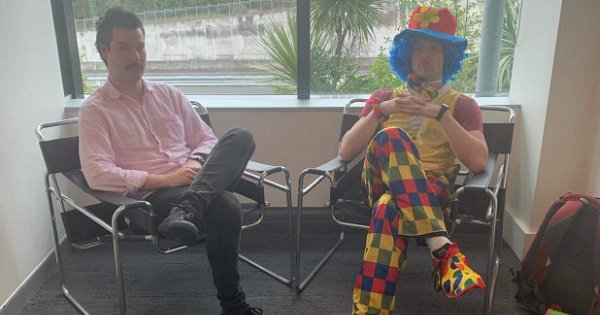 Man Brings Clown To Office On The Day He's Being Fired For 'Emotional Support'