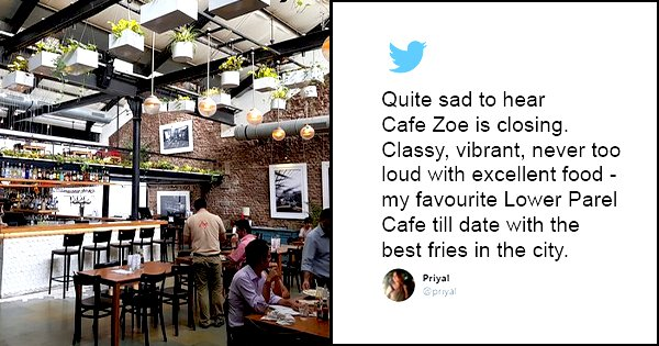 Mumbai To Say Goodbye To Cafe Zoe, The Iconic Restaurant That'll Shut Down This September