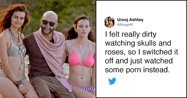 20 Tweets To Read If You're Still Wondering Whether To Watch 'Skulls & Roses'
