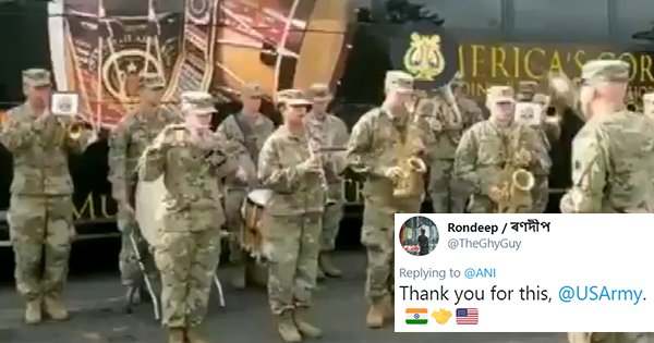 Watch The US Army Play 'Jana Gana Mana' During Indo-US Joint Army Exercise
