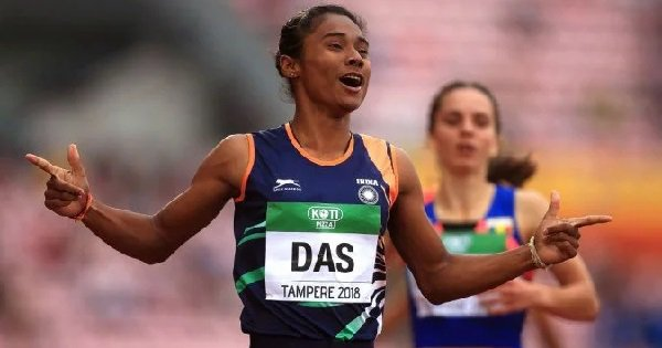 Hima Das Ruled Out Of World Championships In Doha Due To Back Injury