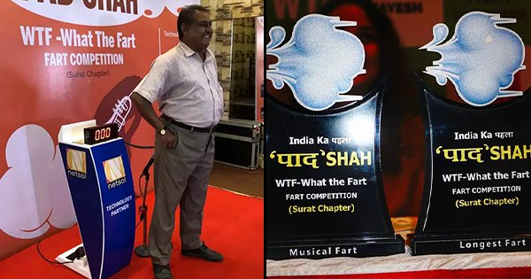 Only 3 Out Of 200 Participants Showed Up For Surat Farting Contest. It Was All Gas After All