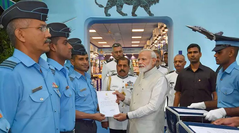 Pilots selected from IAF