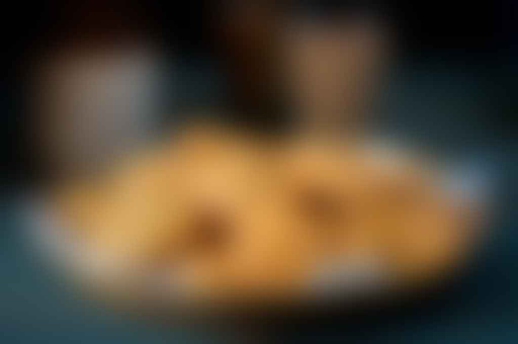 mathri on a plate