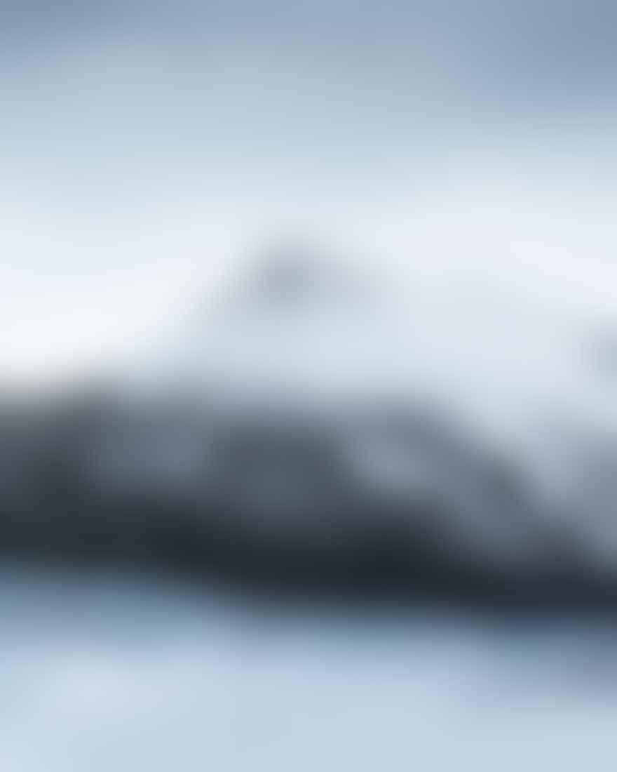 Snowy Peaks, And Glacier