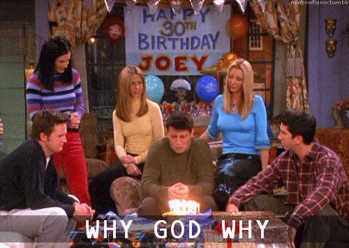 Joey why god why gif