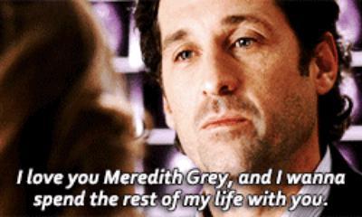 Meredith & Derek proposal in Grey's Anatomy
