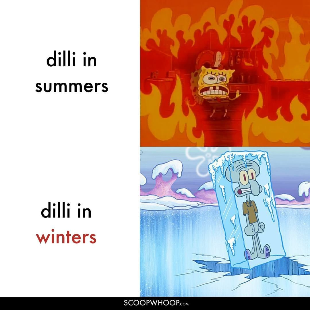 Delhi's weather