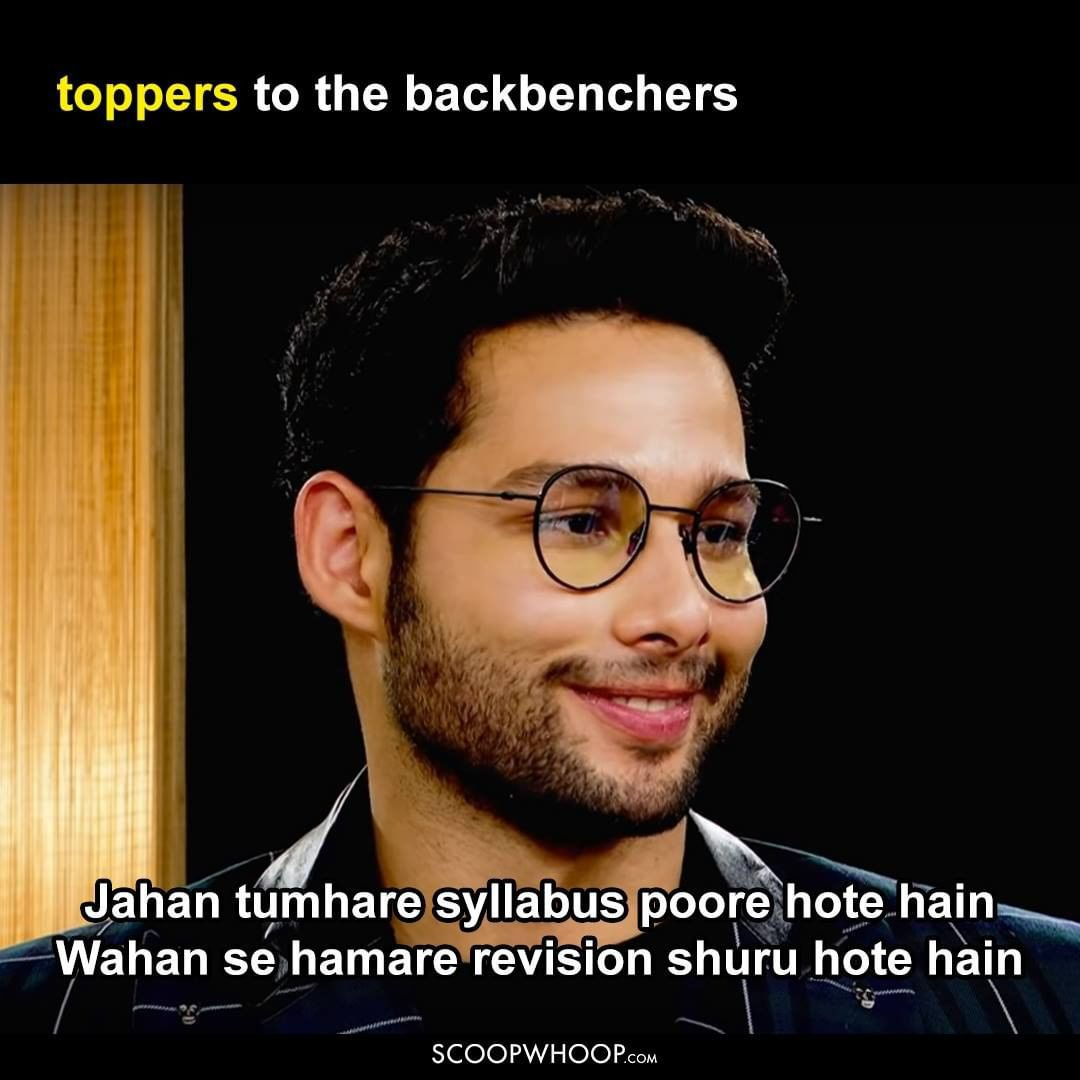Toppers and Backbenchers