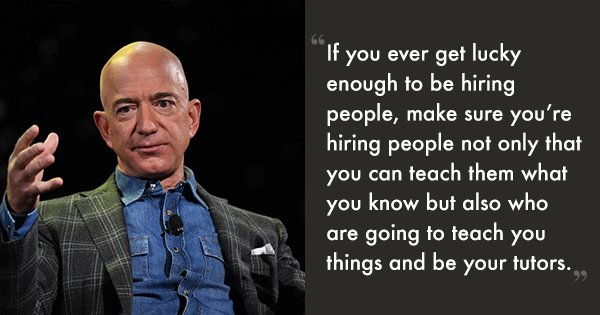 7 Lessons Jeff Bezos Shared During His Interaction With Indian Startups Yesterday In Delhi
