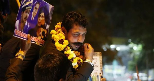 Bhim Army Chief Chandrashekhar Azad Released From Tihar Jail, Says Will Continue Fight Against CAA