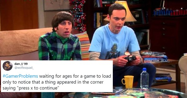 30 Hilarious Tweets About Gaming That Will Make Every Hardcore Gamer Say 'Damn'