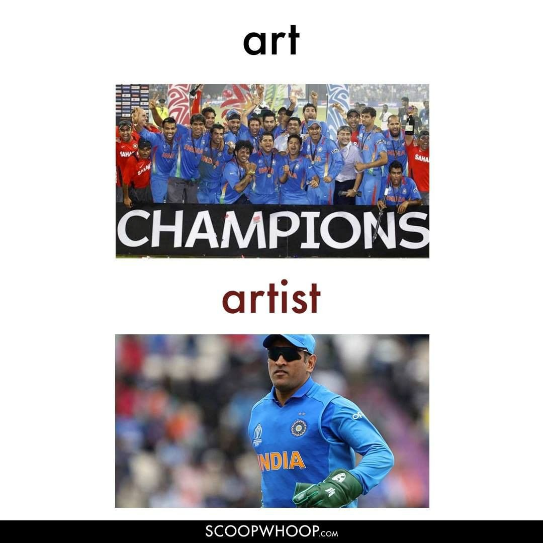 Art and artist cricket meme