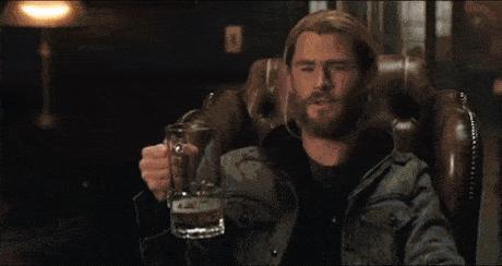 Thor beer dr strange gif