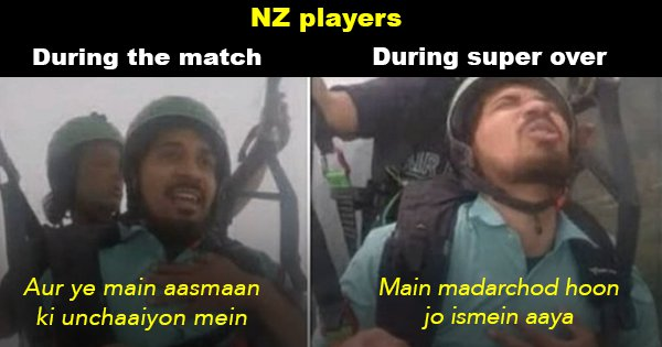 New Zealand Lost Yet Another Match After Super-Over and Indian Twitter Was Like 'Tumse Na Ho Paayega'