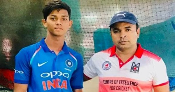 Told By His Protege To Not Attend U19 WC, Yashasvi Jaiswal's Coach Watched Him Secretly From Stands