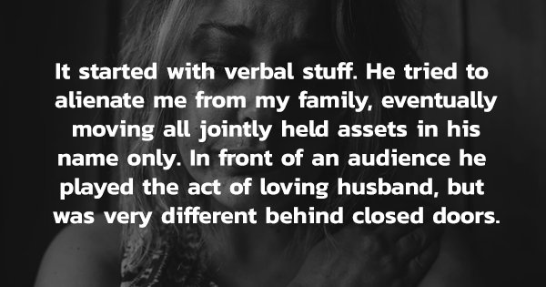 12 Domestic Abuse Survivors Recount Their Experiences Of When The 'Love' Started To Hurt