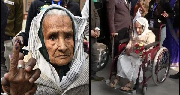 Meet 111-Year-Old Kalitara Mandal, Delhi's Oldest Voter Who Is Inspiring Many To Step Out and Vote