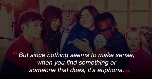 26 Quotes From 'The Good Place' To Remind You To Live Your Life 'Forking' Well
