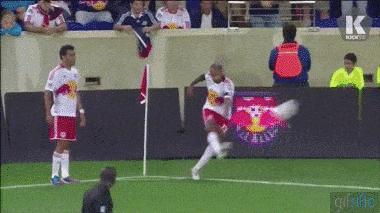 Theiry henry corner goal gif