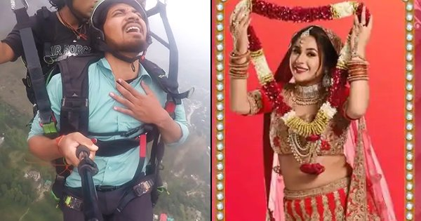 After Roadies, Paragliding Guy 'Lands' Himself Into 'Mujhse Shaadi Karoge' As Shehnaz Gill's Suitor thumbnail