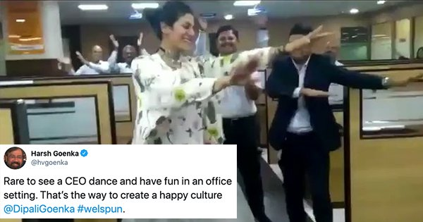 Welspun India CEO's Video Of Dancing In The Office Is Making The Internet Go 'How To Apply Here?'