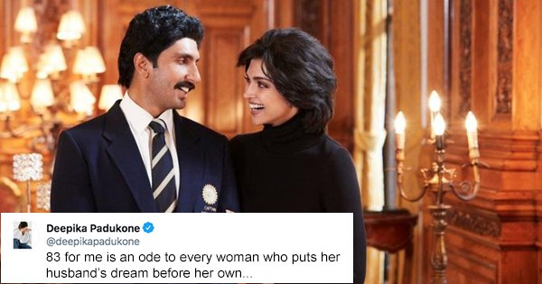 Dear Deepika, A Woman Putting Her Husband's Dream Before Hers Is Unfortunate and Doesn't Need An 'Ode'