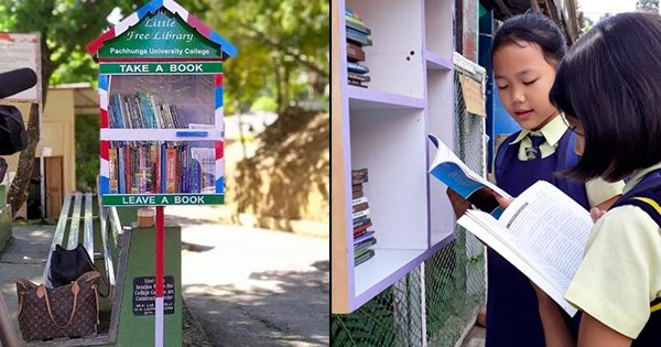 Mizoram Leading The Way. Aizawl Now Has Mini Street Libraries Where Anyone Can Read Books For Free