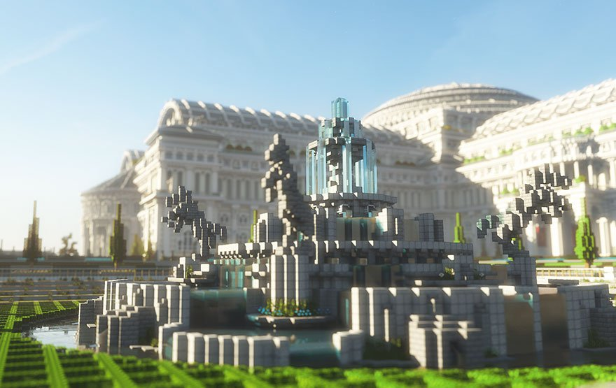 Library In Minecraft game