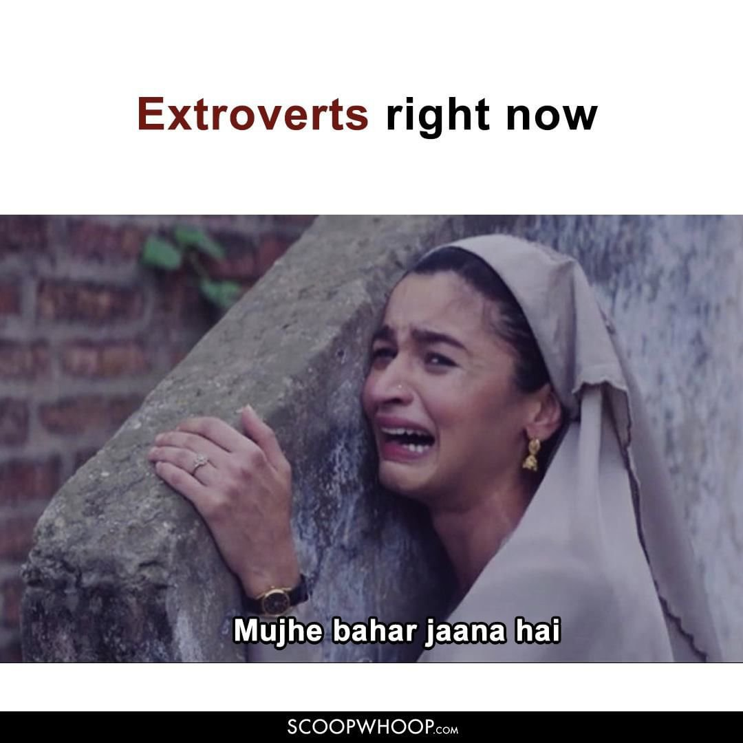 Extroverts Right Now