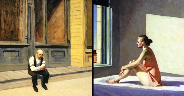 These Paintings From 70 Years Ago, Predicted How Lonely Modern Life Would Get During Quarantine