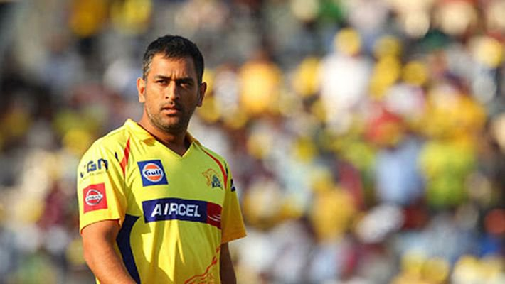 Dhoni in the IPL