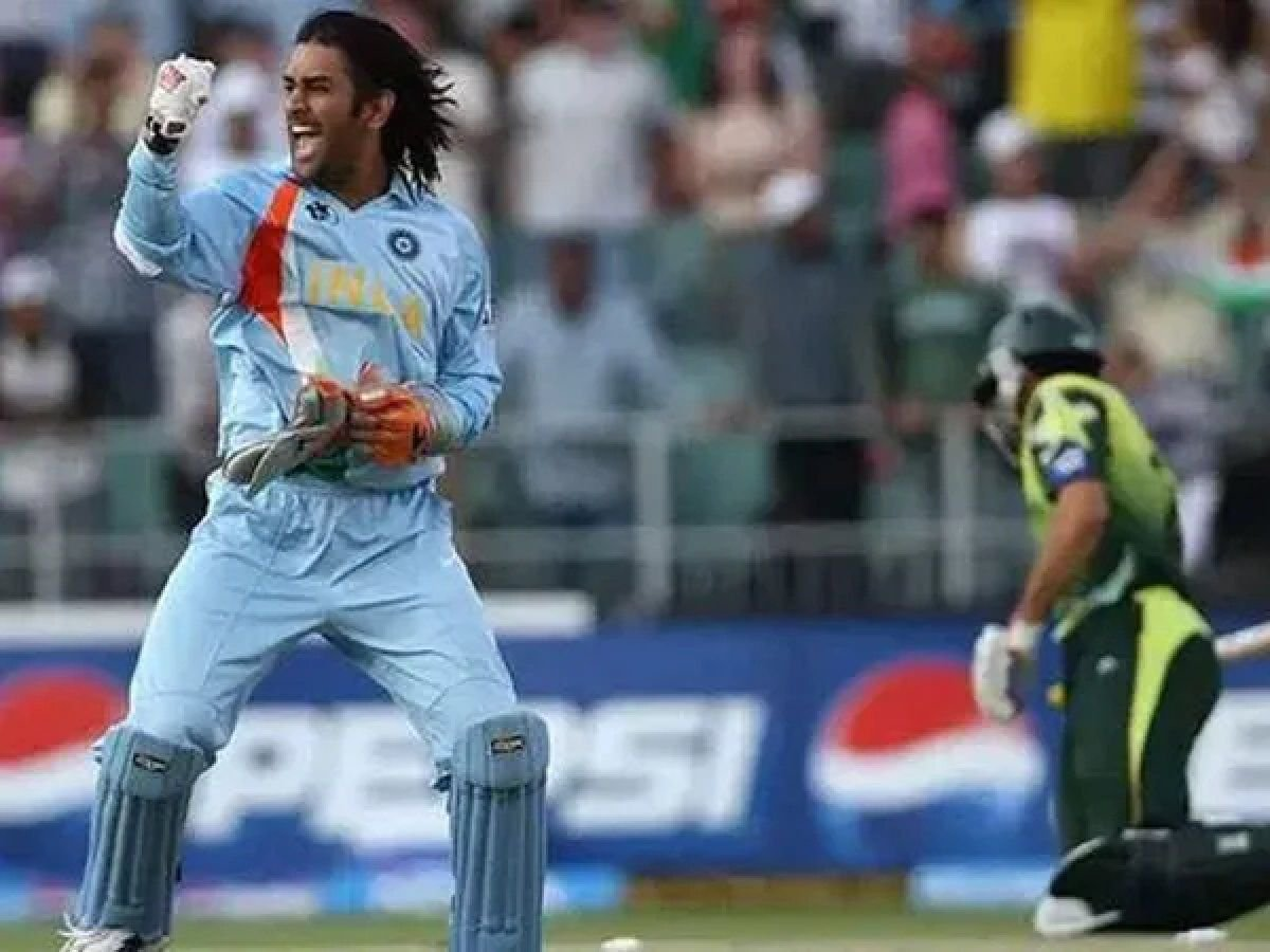 Ms dhoni 2007 world cup