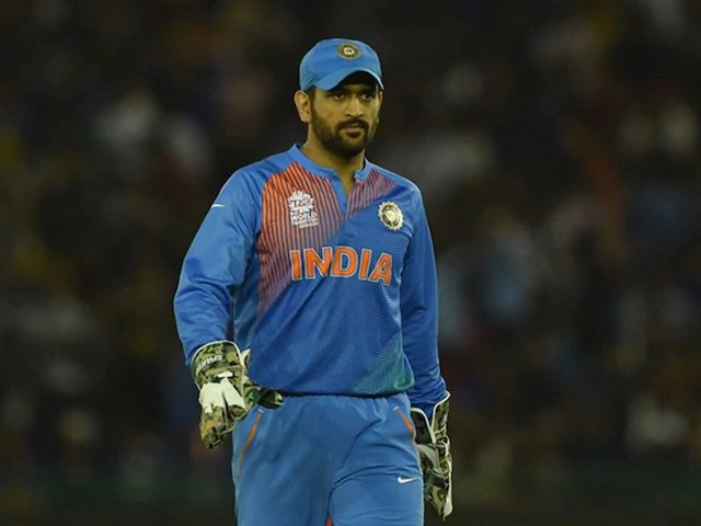ms dhoni in India jersey