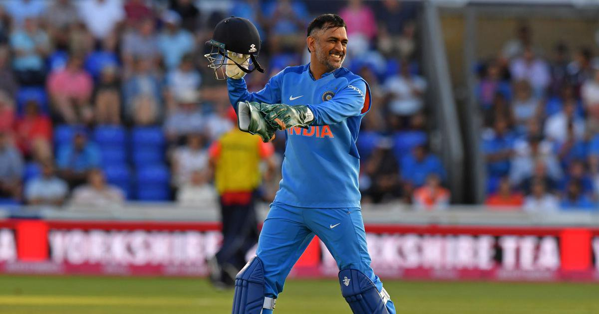ms dhoni for india