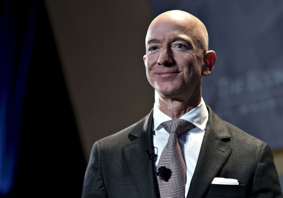 jeff bezos becomes the person in the world with a